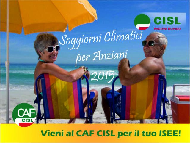 Soggiorni Climatici Anziani 2015 – Comune di Padova | CISL Padova Rovigo