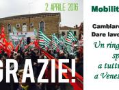 banner centrale grazie mobilitaz unitaria