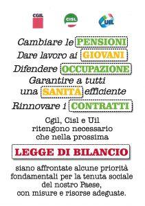 Allegato1_volantino CGIL CISL UIL LEGGE DI BILANCIO 2_Pagina_1