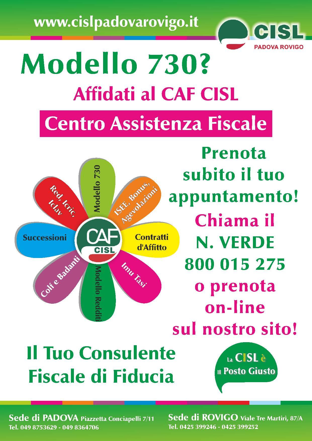 Volantino Caf 2018